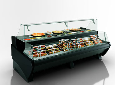 Counters Symphony luxe MG 120 sushi/pizza combi L/self 125-DBM
